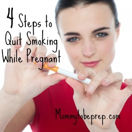 4 Steps to Quit Smoking While Pregnant