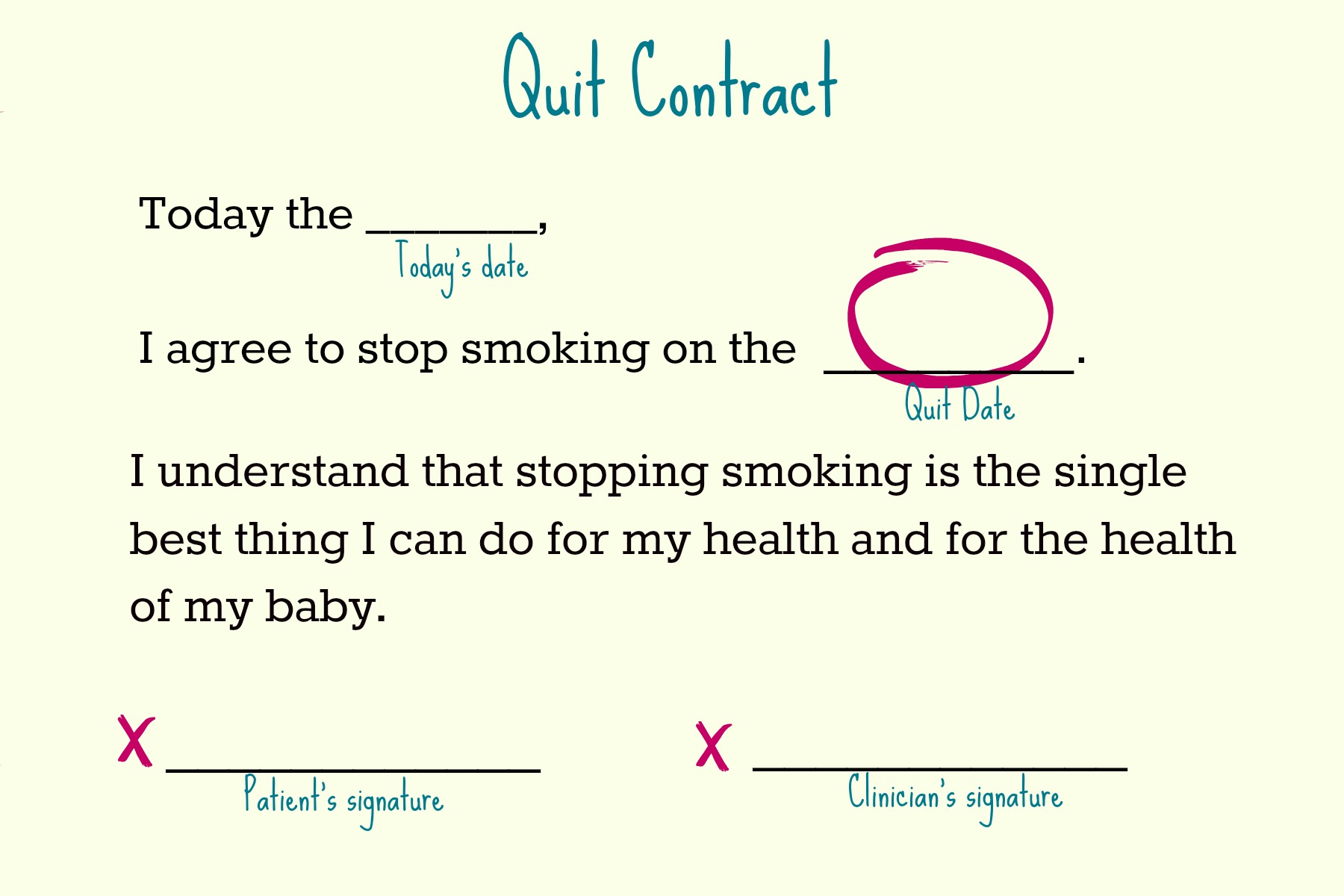 Quitting Smoking When Pregnant